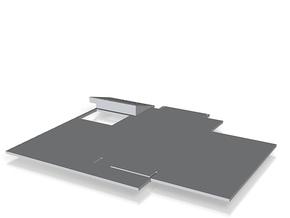 irst floor slab_150cr in White Natural Versatile Plastic
