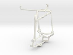 Controller mount for Steam & vivo X60 Pro (China)  in White Natural Versatile Plastic