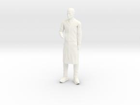 Jonny Quest - Dr Zin - 1.24 in White Processed Versatile Plastic