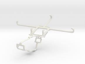 Controller mount for Xbox One & Xiaomi Poco F3 in White Natural Versatile Plastic