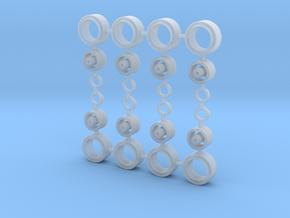 1/64 10x5mm diamond6 in Smooth Fine Detail Plastic