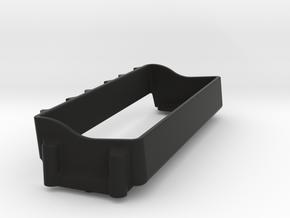 4s lipo tray for Losi Lasernut U4 - super low cog in Black Natural Versatile Plastic