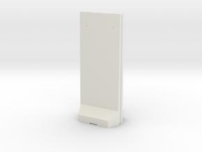 Concrete T-Wall 1/64 in White Natural Versatile Plastic