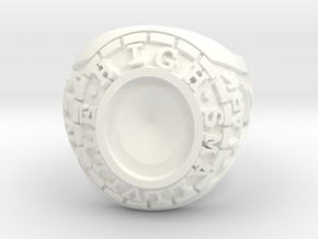 Smallville - Clark Ring - Size 12 - Seated in White Processed Versatile Plastic