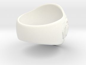 Smallville - Clark Ring - Size 11 - Seated in White Processed Versatile Plastic