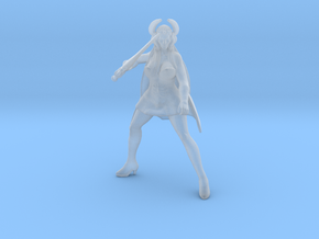 Shera DnD 1/60 miniature for games and rpg in Smooth Fine Detail Plastic