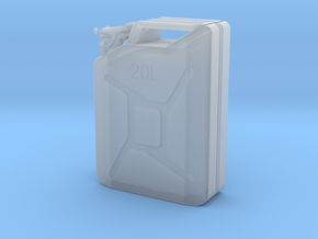 Jerry can, complete, scale  1:15 in Smooth Fine Detail Plastic