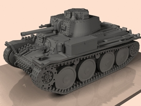 1/100 Panzer 38(t) 2 parts in Smooth Fine Detail Plastic