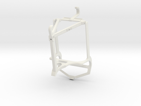 Controller mount for PS4 & Oppo A54 5G - Top in White Natural Versatile Plastic