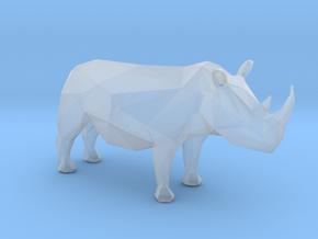 Plastic Rhino 1:48-O in Smooth Fine Detail Plastic