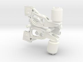 Air suspension 1-14 in White Processed Versatile Plastic