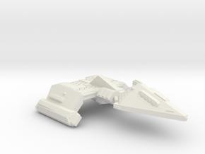 3125 Scale Neo-Tholian X-Ship Heavy Destroyer SRZ in White Natural Versatile Plastic