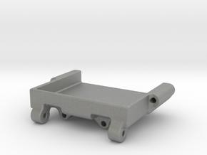 SCX24 Rear Steer Servo mount for Reefs 99 Micro in Gray PA12