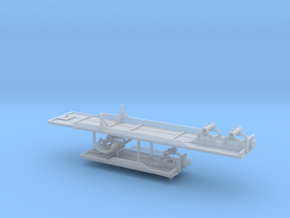 1/160th 40 & 20 foot outside frame flatbed A Train in Smoothest Fine Detail Plastic