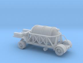 1/160 Oxygen tank trailer for V2  in Smooth Fine Detail Plastic