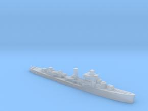 USS Davis destroyer late war 1:1250 WW2 in Smooth Fine Detail Plastic