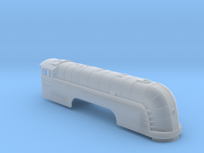 New York Central - Mercury - HO Locomotive Shell in Smooth Fine Detail Plastic