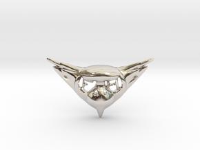 FLYHIGH: Womens Bird Pendant in Platinum