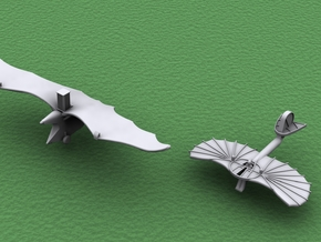 1/500 Pioneers of Flight: Ader & Lilienthal in Smooth Fine Detail Plastic