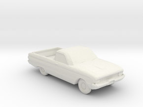 1961 Ford Falcon Utility [XK] 1:160 scale. in White Natural Versatile Plastic