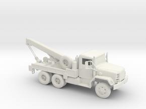 M-62 Military Custom Civilian Tow Truck 1:160 scal in White Natural Versatile Plastic