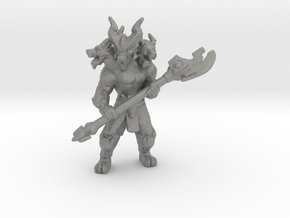 Cerberus Guardian miniature model fantasy game rpg in Gray PA12