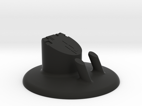 Display Stand for NASA's Roman Space Telescope  in Black Natural Versatile Plastic