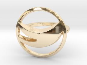 Globemed Ring, Original  in 14K Yellow Gold