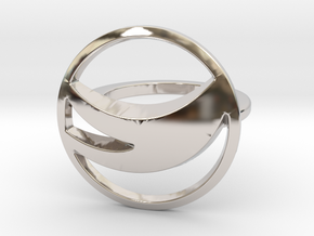 Globemed Ring, Original  in Platinum