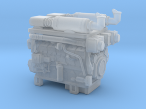 1/64th Hydraulic Fracturing TIER IV Engine in Smooth Fine Detail Plastic