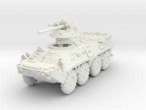 MG144-R21A BTR-80A in White Natural Versatile Plastic