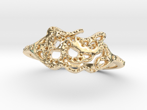 snake ring in 14K Yellow Gold