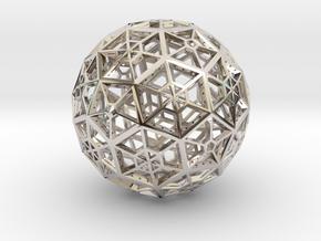 Industrial Geo Bucky-2-Asmb in Platinum