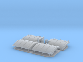 1:32 scale Panther A/D fenders  in Smooth Fine Detail Plastic