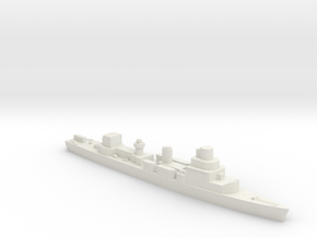 Élan class minesweeper sloop WW2 1:1250 versa in White Natural Versatile Plastic