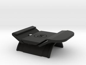 Vertical handlebar mount for GoPro The Remote  in Black Natural Versatile Plastic