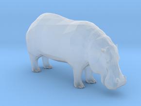 Plastic Hippopotamus v1 1:160-N in Smooth Fine Detail Plastic