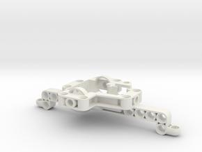 Difflockaxle in White Natural Versatile Plastic
