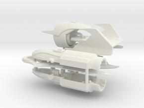 TFP Megatron's fusion cannon (Standard) in White Natural Versatile Plastic