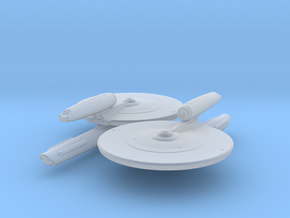 Kelvin Type (TOS Style) 1/4800 Attack Wing x2 in Smooth Fine Detail Plastic