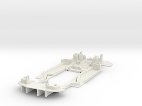 Chassis for Scalextric Bentley Continental GT3 in White Natural Versatile Plastic