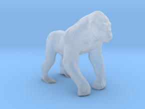Plastic Gorilla v1 1:64-S 25mm in Smooth Fine Detail Plastic