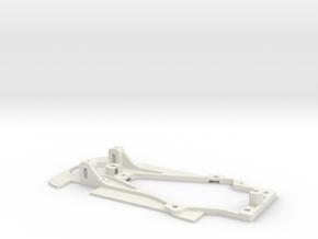 Thunderslot Chassis for Slot.it Matra MS670B in White Natural Versatile Plastic