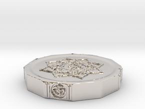 Aum Coin in Platinum