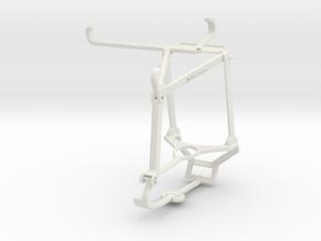 Controller mount for Steam & Realme Narzo 30 5G -  in White Natural Versatile Plastic