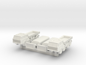 Z Scale Truck Tatra 813 in White Strong & Flexible