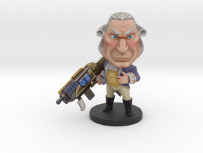George Washington - Ninja Time Pirates in Full Color Sandstone