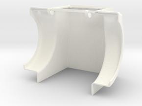Western Star EX Style Tilt-Hood in White Processed Versatile Plastic