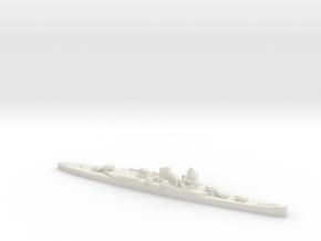 IJN Mogami cruiser 1:1250 WW2 VersPl Modellers Ed in White Natural Versatile Plastic