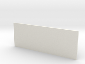 Miniature Da Vinci Bridge V3 - 10 cm in White Natural Versatile Plastic